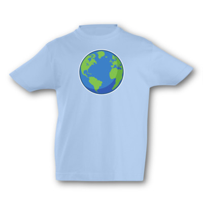 Kinder T-Shirt Planet Erde