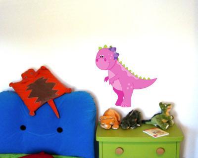 T rex dino wandtattoo wandaufkleber kinderzimmer plot4u - Wandtattoo dino ...