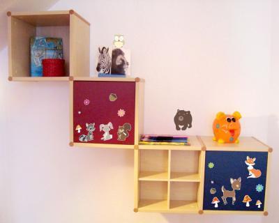 17 teilige lustige waldtiere wandtattoo set kinderzimmer wandaufkleber aufkleber ebay. Black Bedroom Furniture Sets. Home Design Ideas