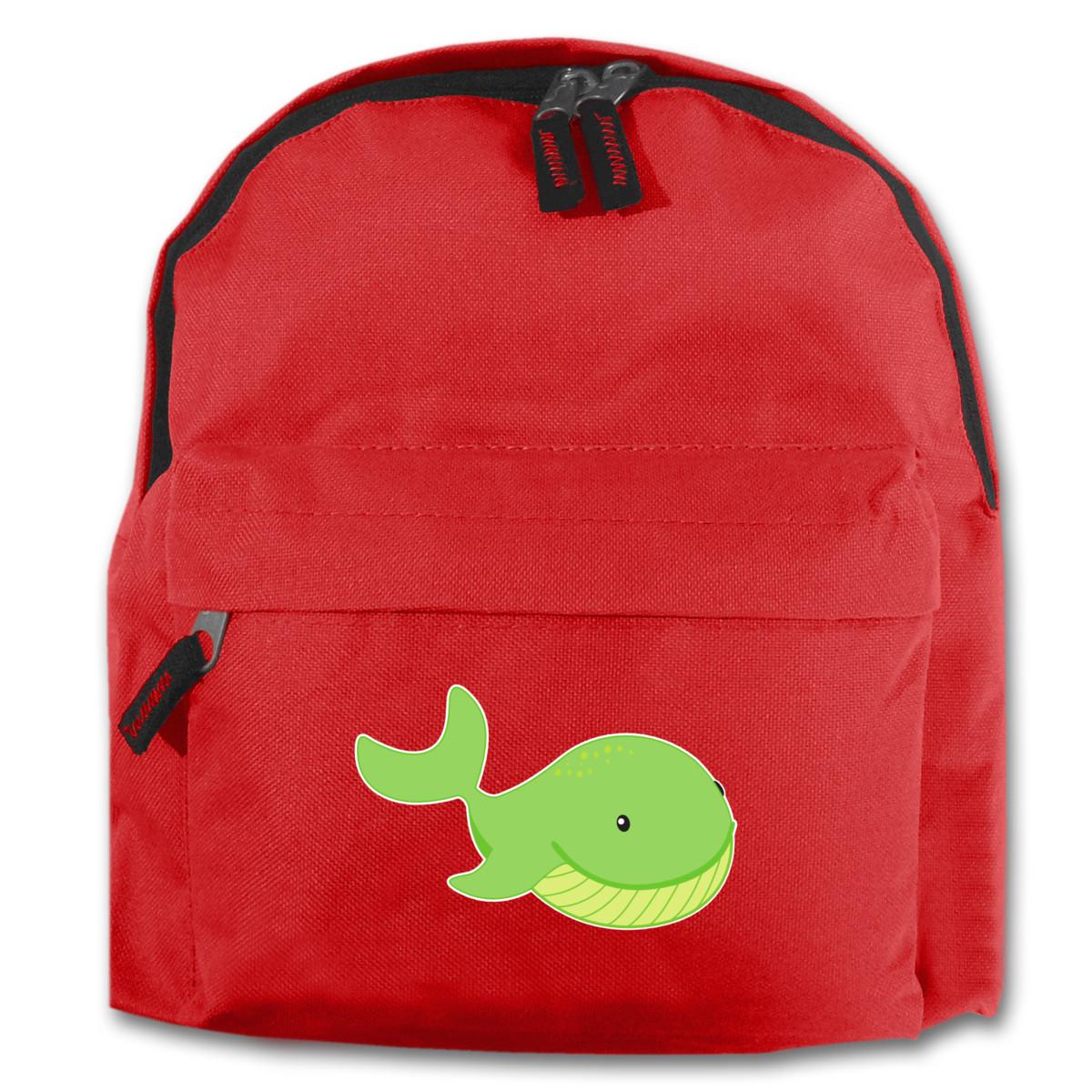 Kinder Rucksack Wal für Schule und Freizeit 7 Farben 25x30x12 cm | eBay