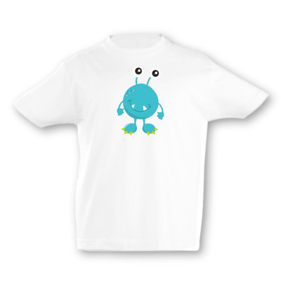 Kinder T-Shirt Türkises Monster
