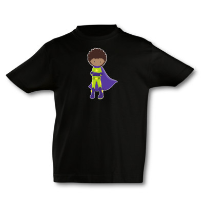 Kinder T-Shirt Superheld Bruce
