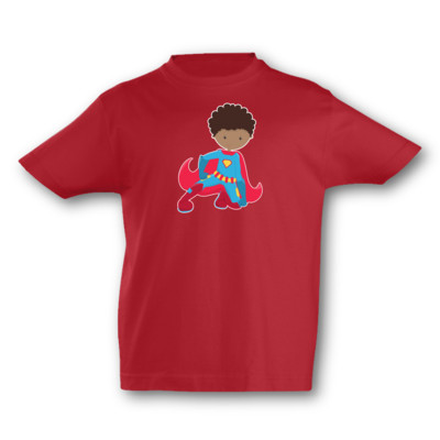 Kinder T-Shirt Superheld Clark