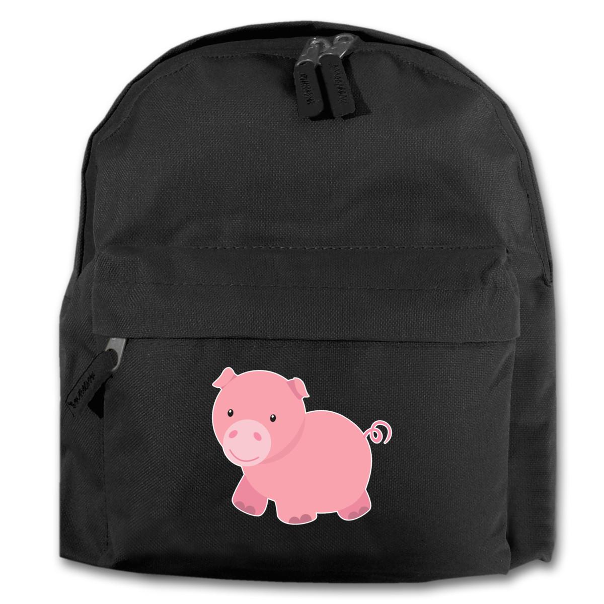 Kinder Rucksack Baby Schweinchen für Schule Freizeit 7 Farben ...