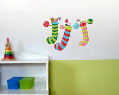 Weihnachtsdeko wandtattoo wandaufkleber kinderzimmer plot4u for Weihnachtsdeko kinderzimmer