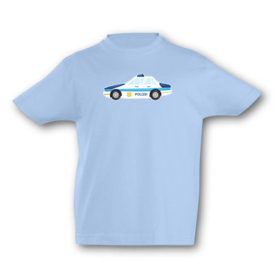 Kinder T-Shirt Polizeiwagen