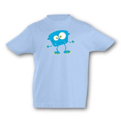 Kinder T-Shirt Lustiges Monster