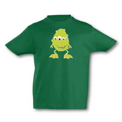 Kinder T-Shirt Lachendes Monster