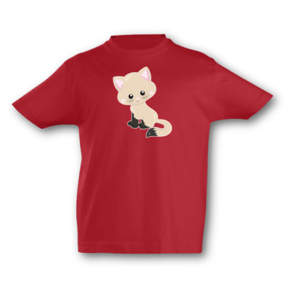 Kinder T-Shirt Katze Kitty