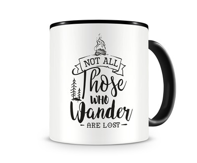 Tasse mit dem Motiv Those Who Wander