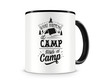 Tasse mit dem Motiv What Happens At Camp Stays At Camp Tasse