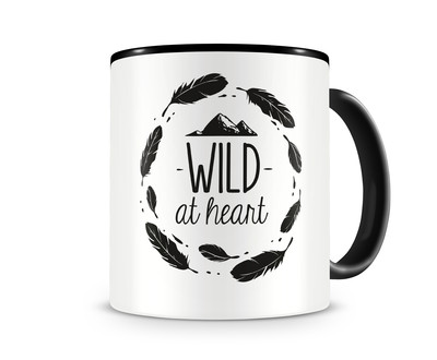 Tasse mit dem Motiv Wild At Heart