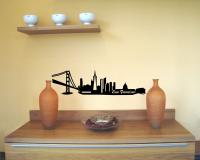 Wandsticker San Francisco Skyline