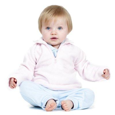 Kinder- und Babypullover mit gestickter Hasen Ballerina Pullover